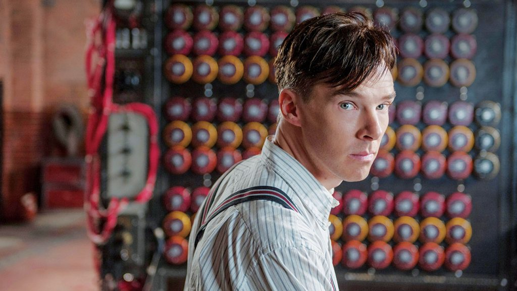 BENEDICT CUMBERBATCH stars in THE IMITATION GAME