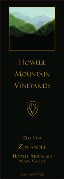 Howell Mountain Old Vine Zinfandel