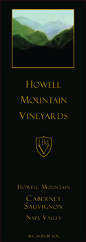 Howell Mountain Vineyards Cabernet Sauvignon