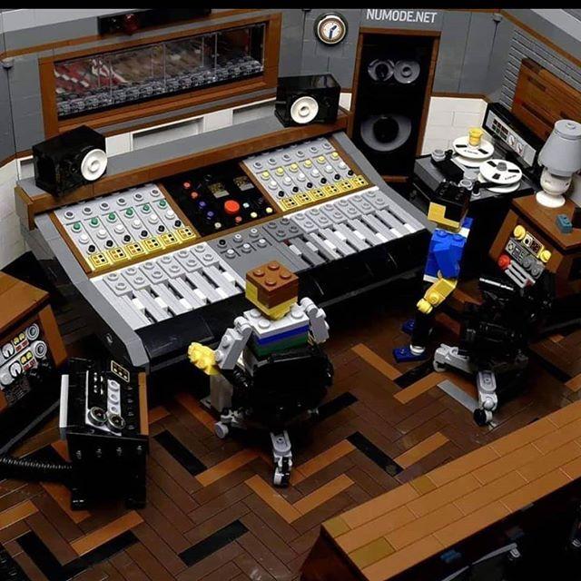 Amazing studio but damn their rates are puzzling...#Lego #studio #audio #audioengineer #producer #production #music #musicians #musicianlife #manleylabs #rupertneve #avalondesigns #sunsetstudios #electricladystudios #reggae