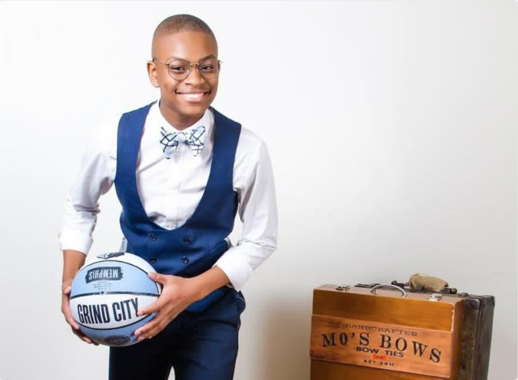Moziah Bridges   was only 9 years old when he started making custom bow ties. Bridges wanted to start making bow ties with more styles and designs sue to the lack of styles that were available in stores. With the help of his mother and grandmother's sewing skills and some vintage fabrics from his grandmother, Moziah started making and selling custom bow ties. Bridges's bow ties are now sold in stores across the United States. He has sold more than $200,000 of handmade bow ties at the age of 12. Bridges has even been featured on ESPN and sold bow ties to many professional athletes.