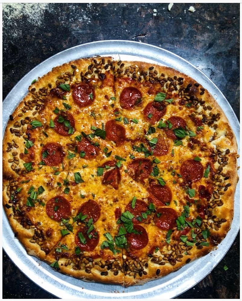 The Honey Badger Pizza