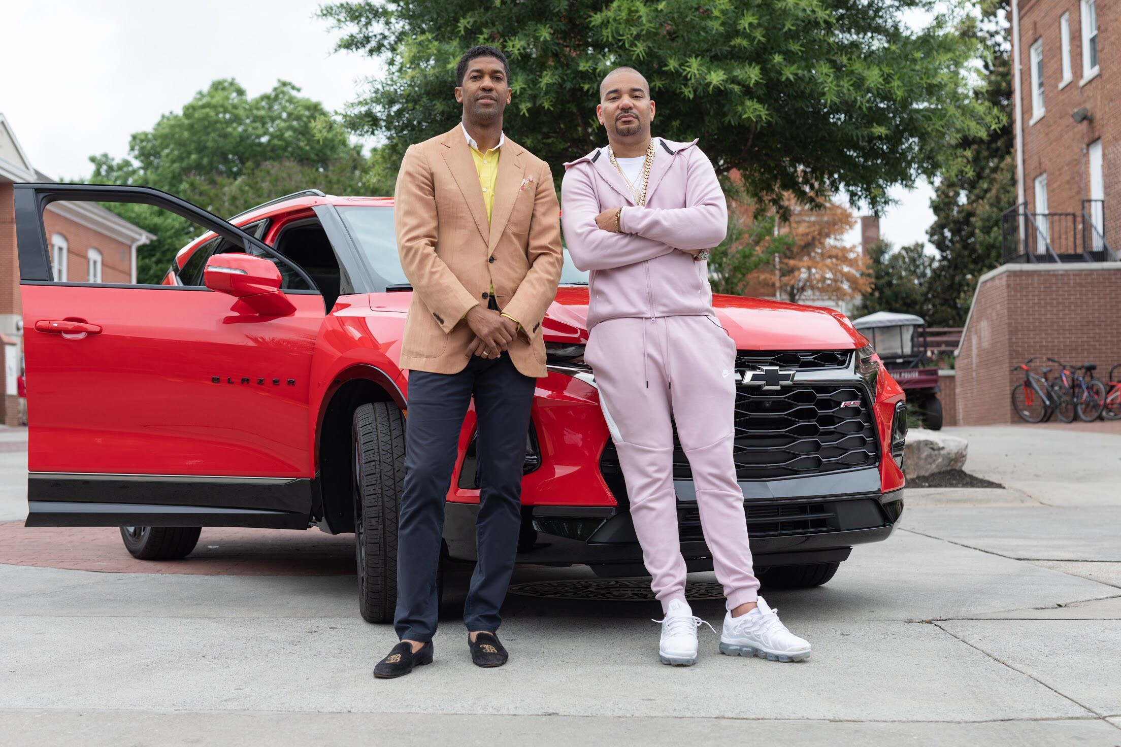 Fonzworth Bentley and DJ Envy