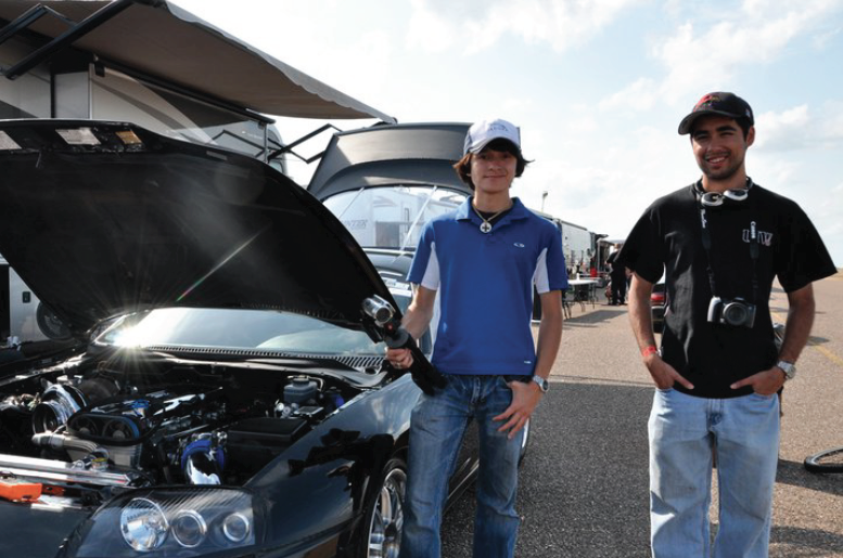Visiting the Texas Mile in 2010 -