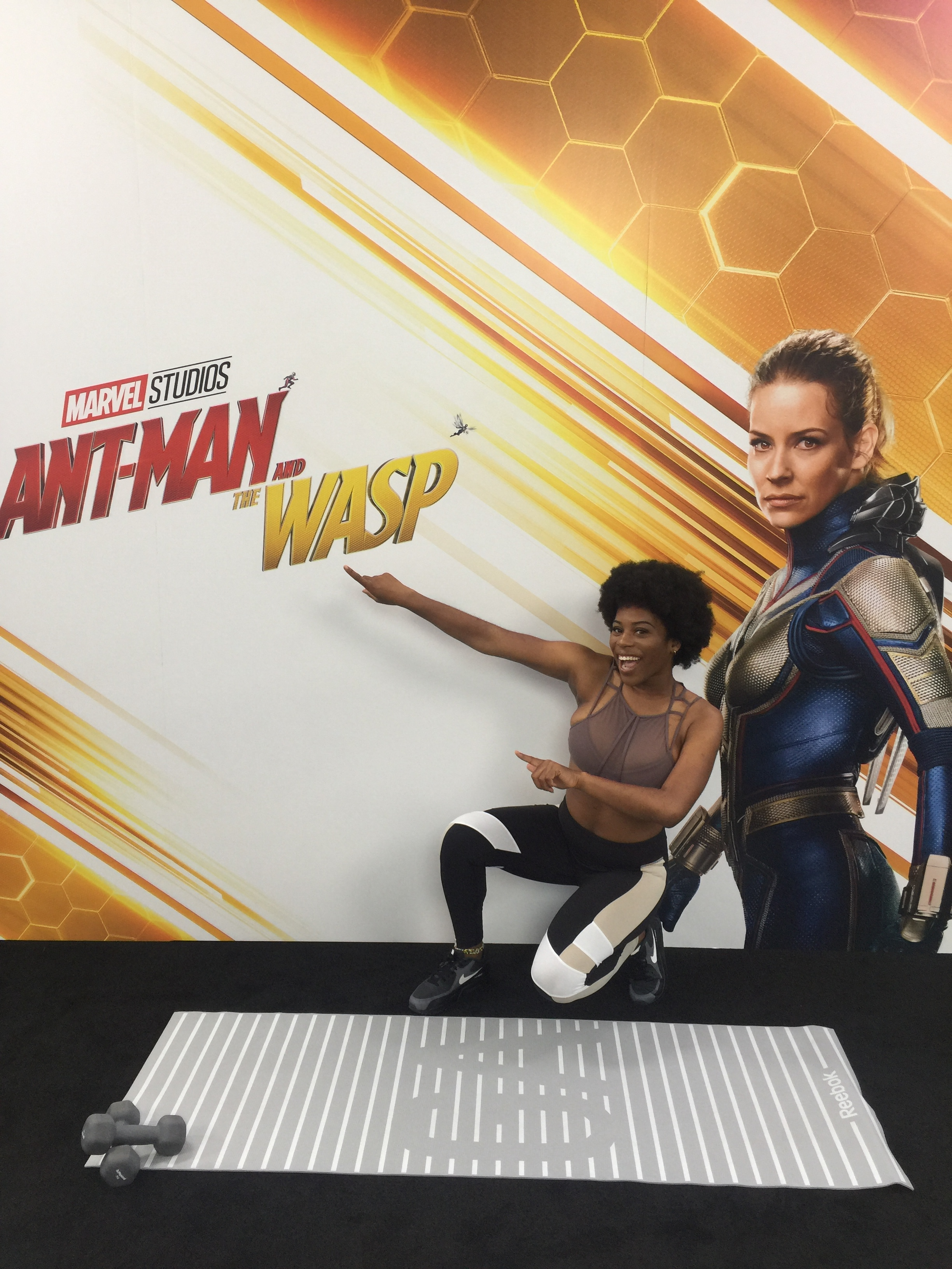 Bam Bam Boogie Dance Fitness has worked on promotional projects with Marvel in the release of Ant-Man and the Wasp.