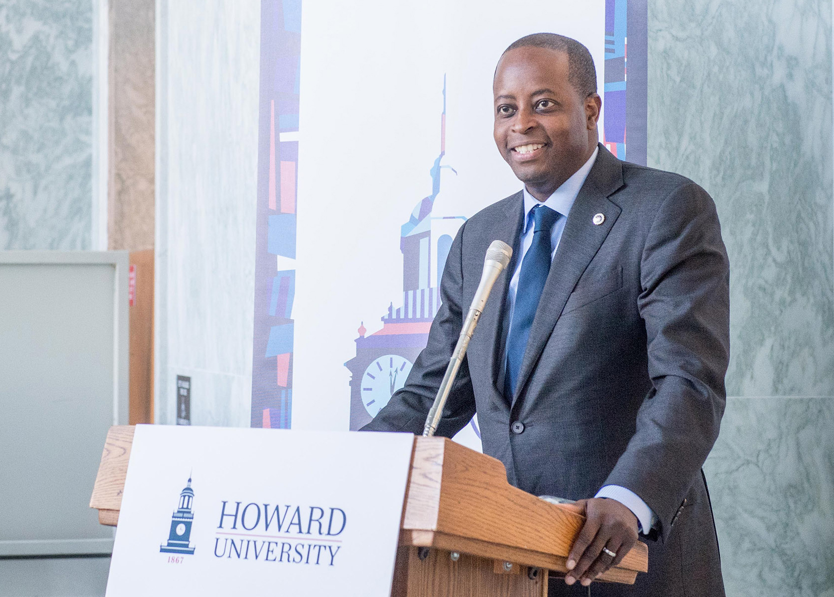 Howard University President Dr. Wayne A.I. Frederick says that sickle cell disease is not a death sentence. People living with SCD can still play sports, go to school, have careers and live productive lives. (Howard University)
