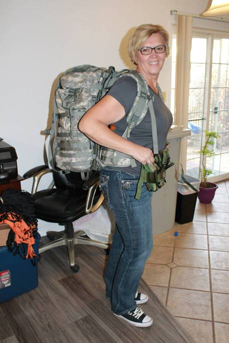 California Veterans Assistance Foundation (CVAF) President, Deb Johnson.
