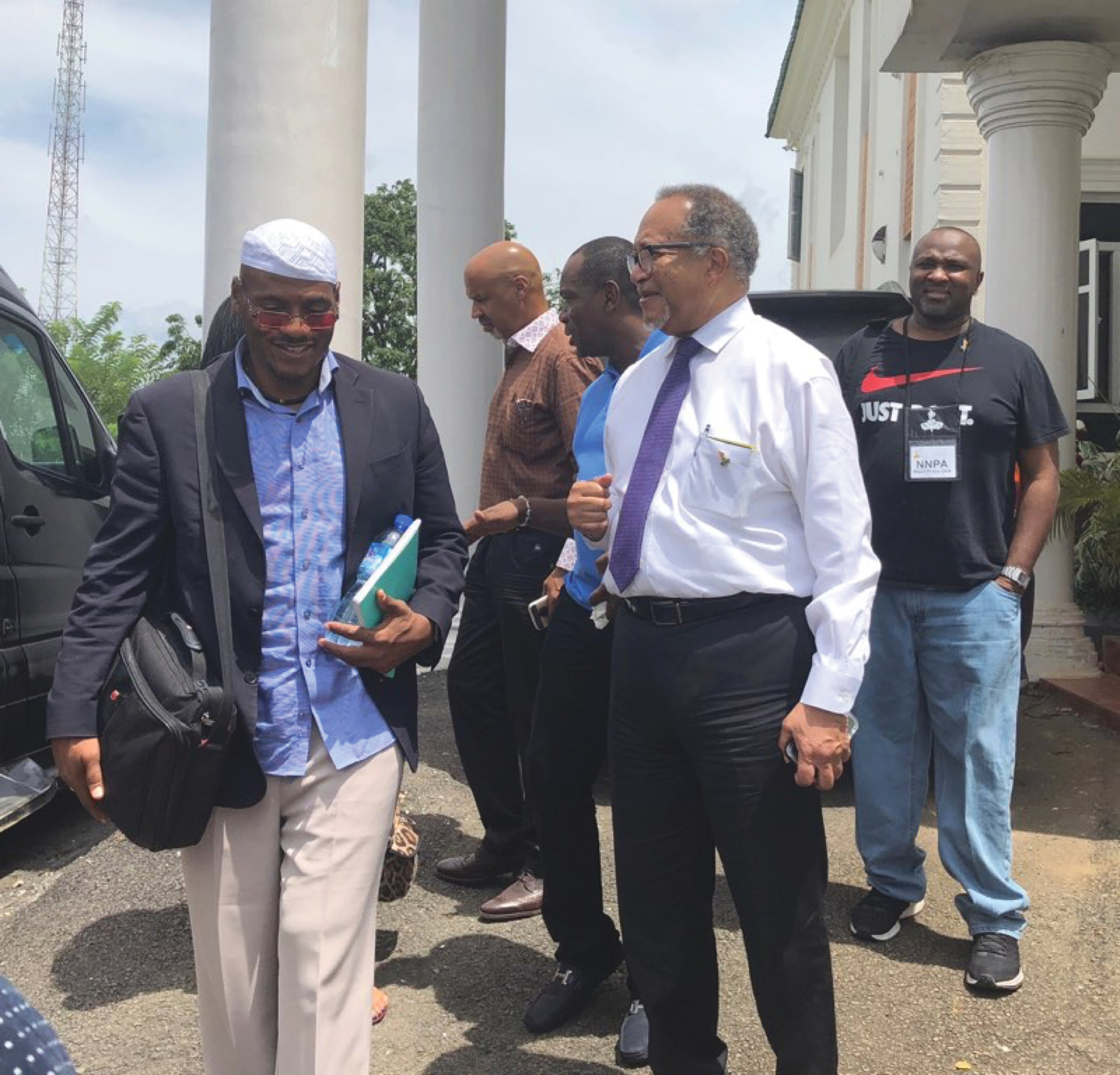 """It has truly been a blessing to be a part of this unique and meaningful pilgrimage to Ile-Ife, Nigeria,"" said Dr. Benjamin F. Chavis, Jr., NNPA President and CEO."