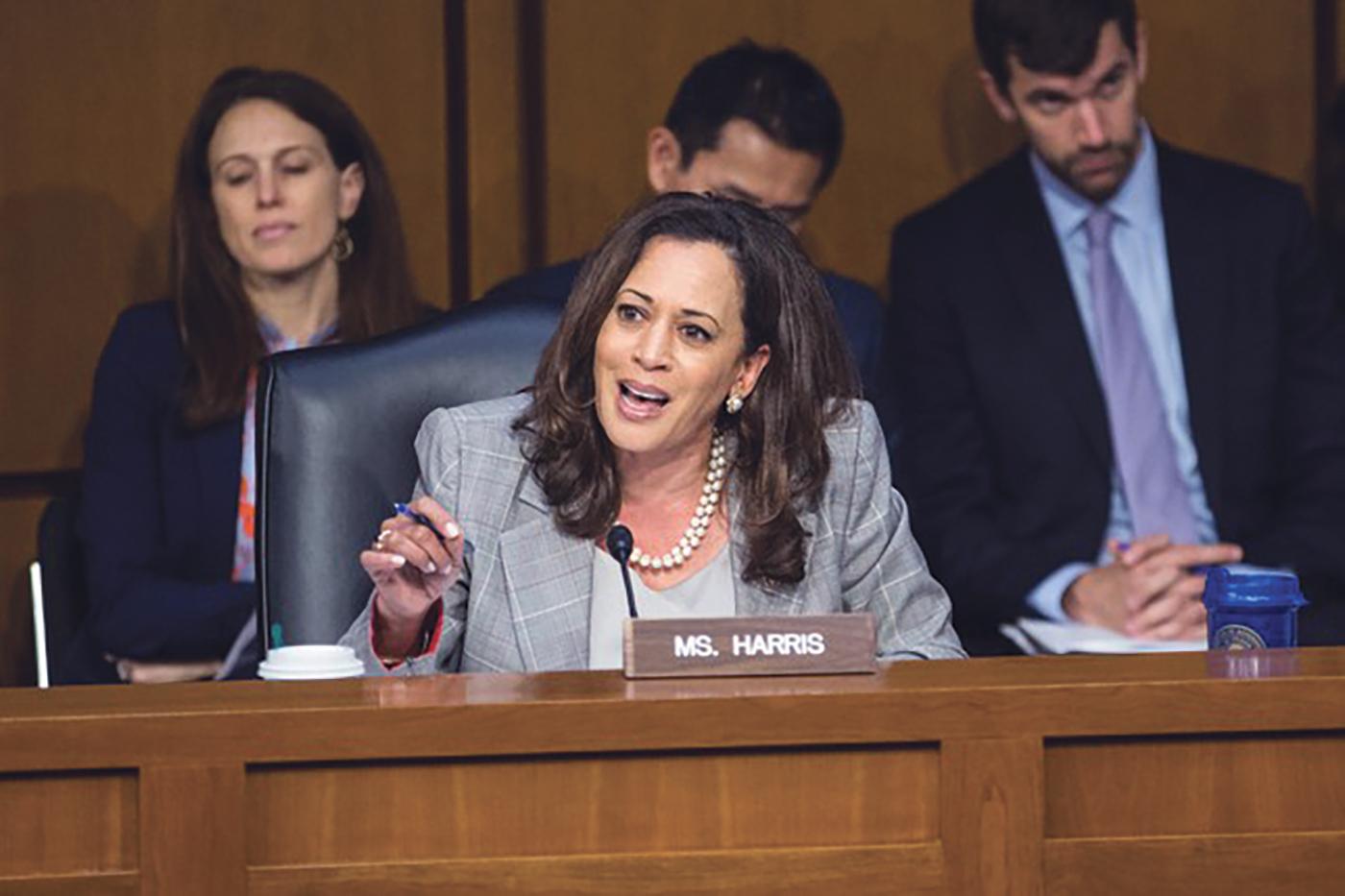 Senator Kamala Harris (D-Calif.) (Photo: Zach Gibson)