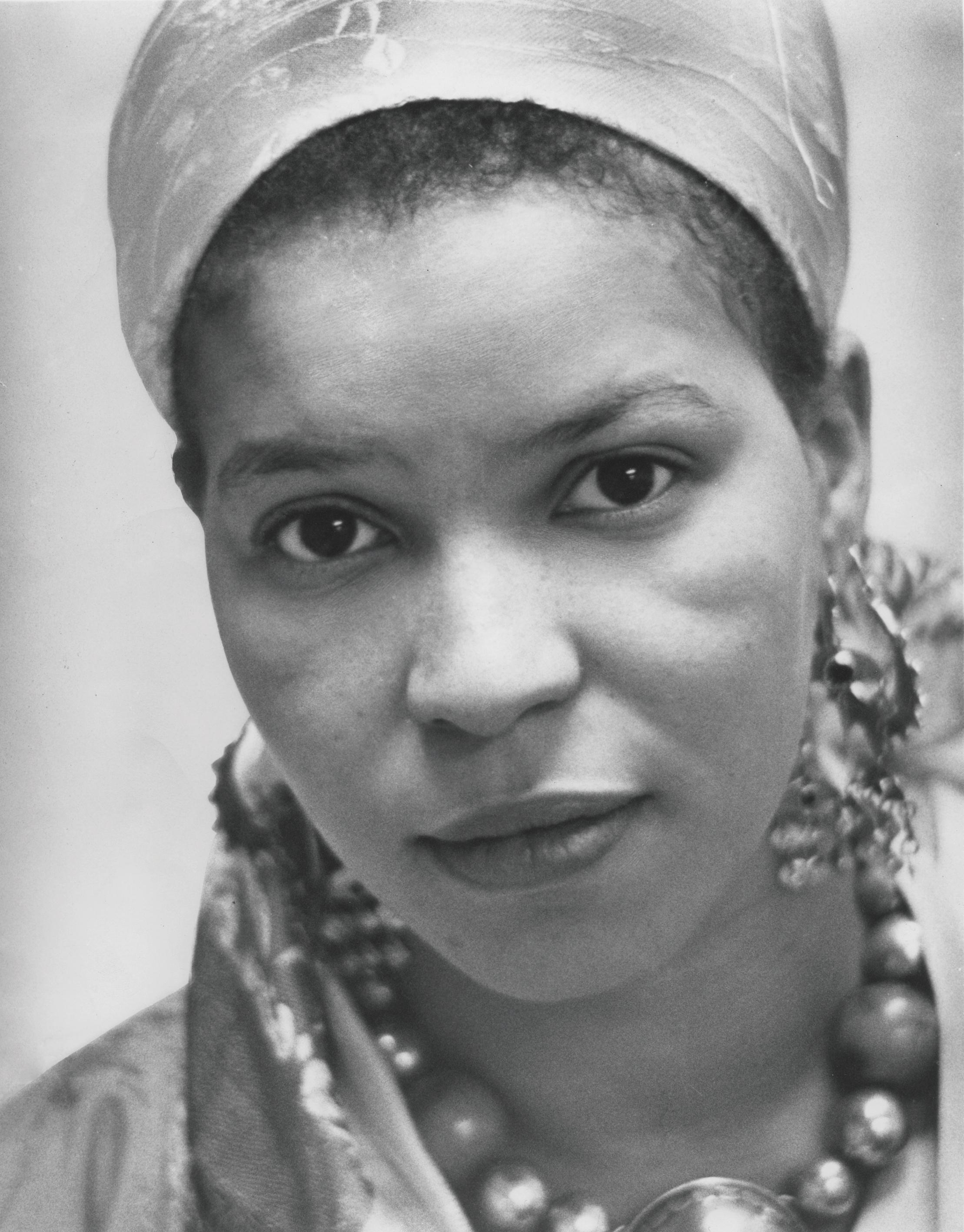 Ntozake Shange, Barnard College, Reid Lecture, Women Issues Luncheon, Women's Center, November 1978 (Photo: Barnard College Archives / Wikimedia Commons)