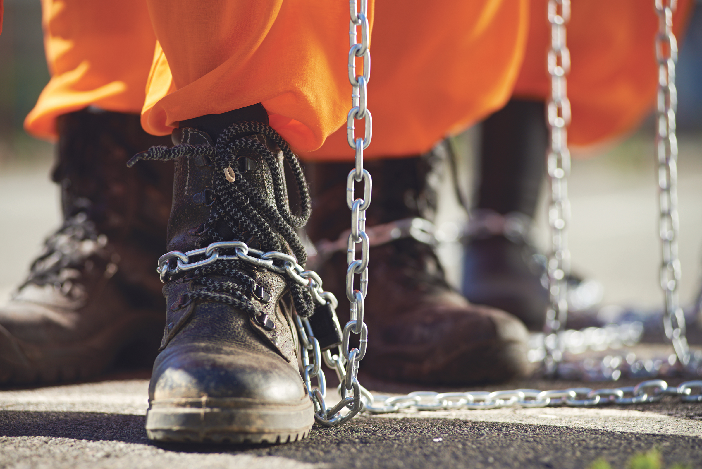"""Since the 1860s, courts have interpreted the 13th Amendment as it plainly reads. """"Once individuals have been duly tried, convicted, sentenced, and imprisoned, courts will not find 13th Amendment violations where prison rules require inmates to work."""" (Photo: iStockphoto / NNPA)"""