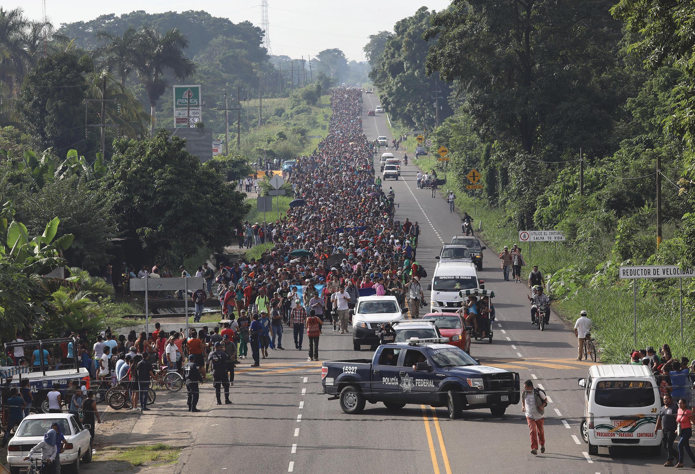 The Migrant Caravan Explained, Dara Lind VOX