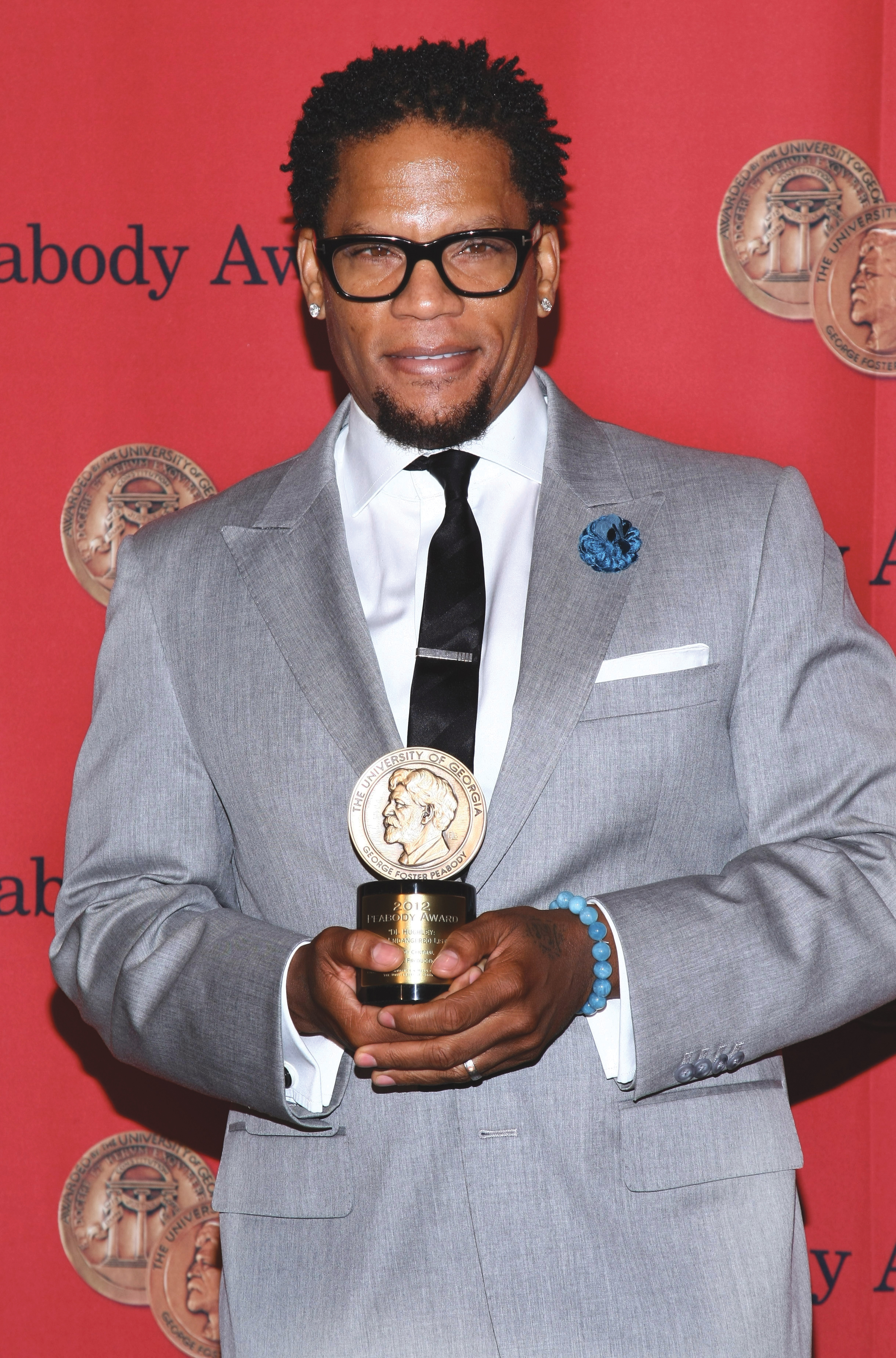 D.L. Hughley at the 72nd Annual Peabody Awards Luncheon for