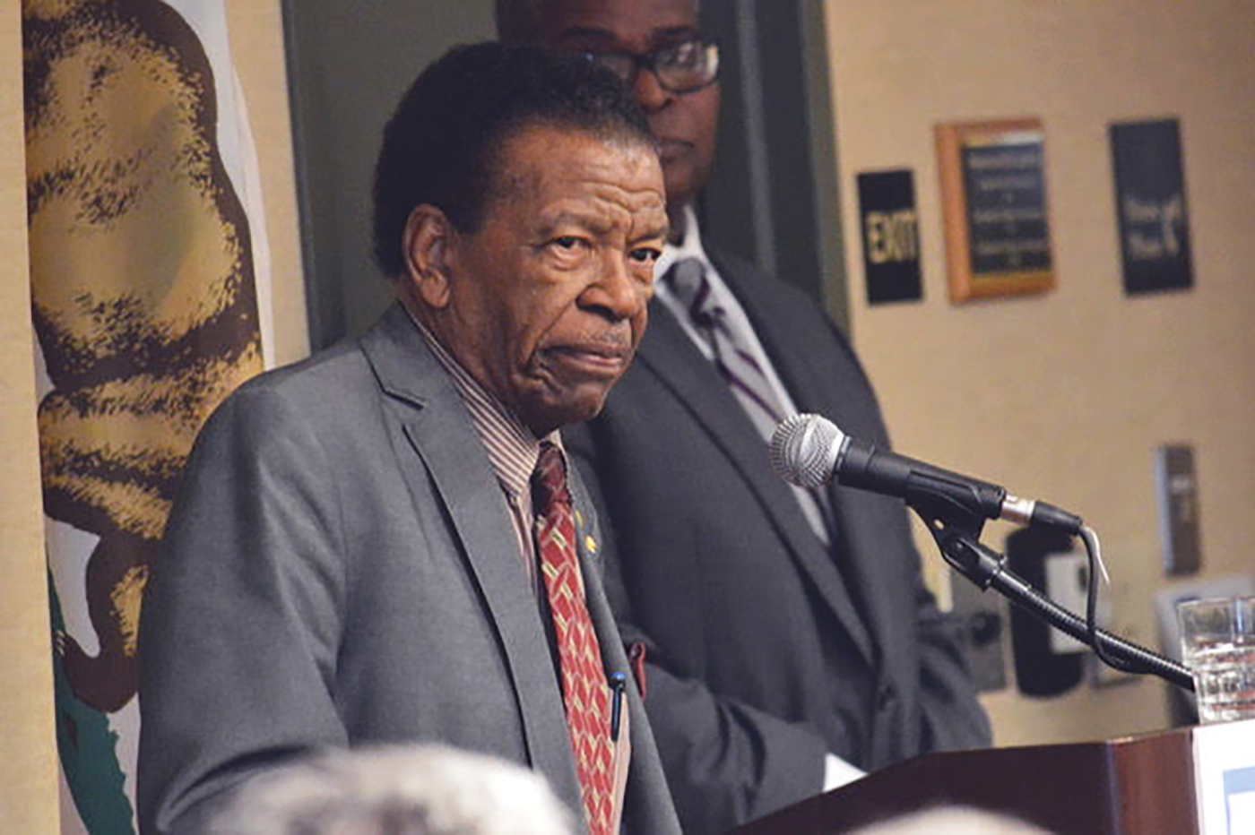 William Paterson, EBMUD's Vice President of the Board of Directors, says that water is a huge issue in his ward in Oakland. About 2,300 of his constituents get assistance to pay for water. (Antonio R. Harvey photo)