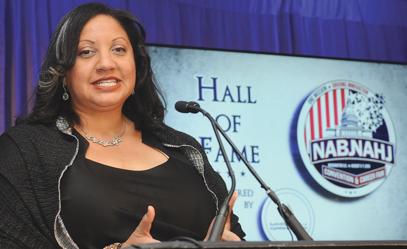 NABJ President Sarah Glover/Crusader Newspapers Photo