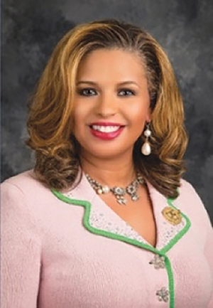Chelle Wilson is a speaker, journalist, and the International Secretary of Alpha Kappa Alpha Sorority, Inc. (courtesy photo)