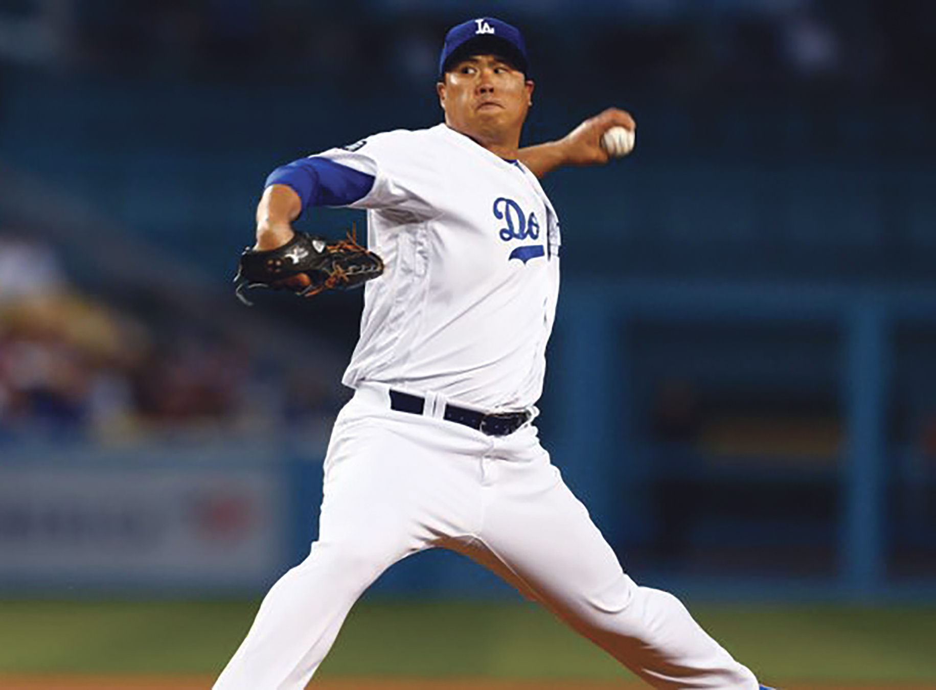 Hyn-Jin Ryu -leads the league with a 1.71 ERA. (courtesy photo)