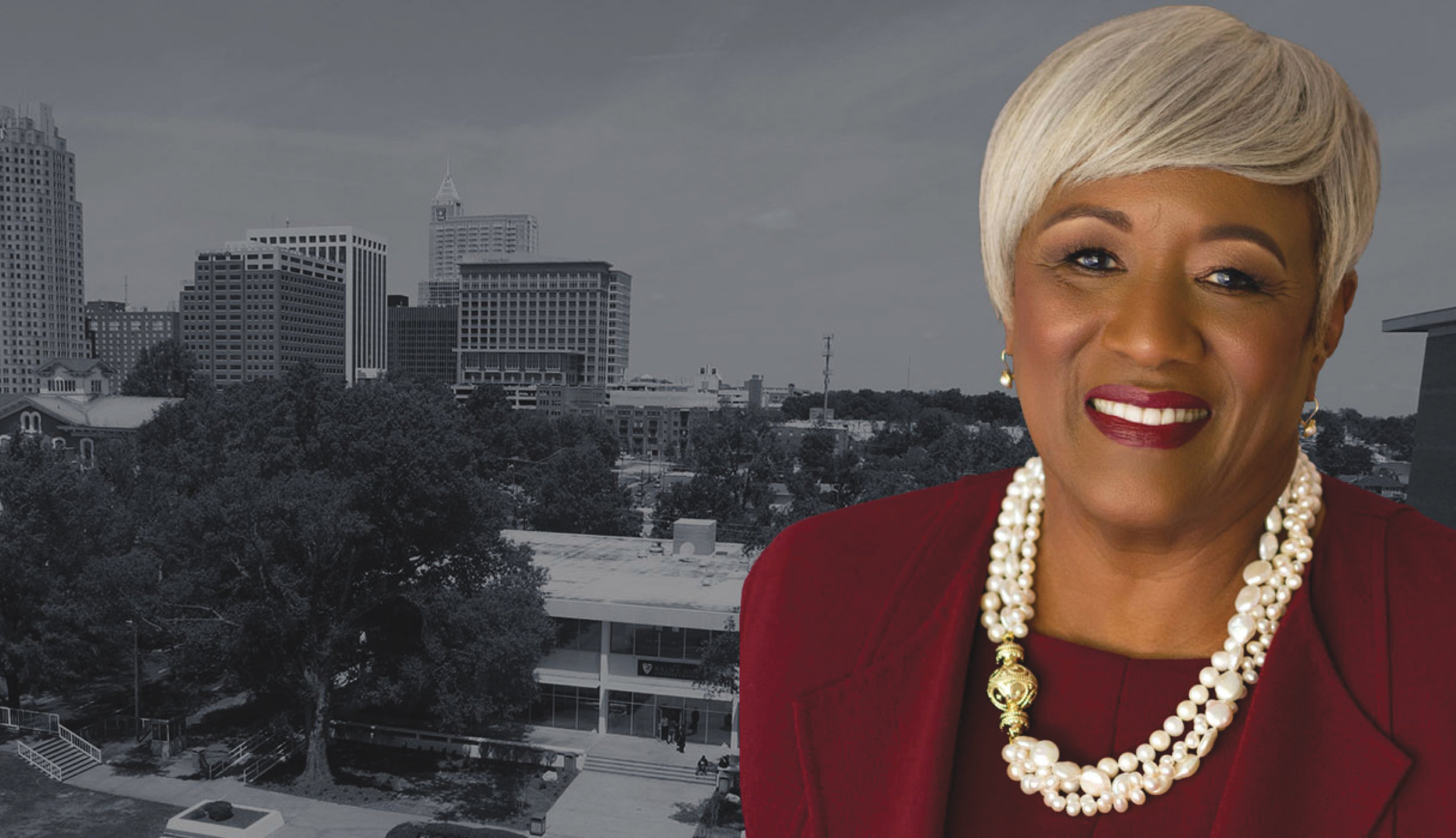 """Dr. Paulette R. Dillard said she's thankful and committed to intentional leadership of Shaw University as """"we continue to grow as an institutional leader in the Raleigh community and globally abroad."""" (Photo courtesy Shaw University)"""
