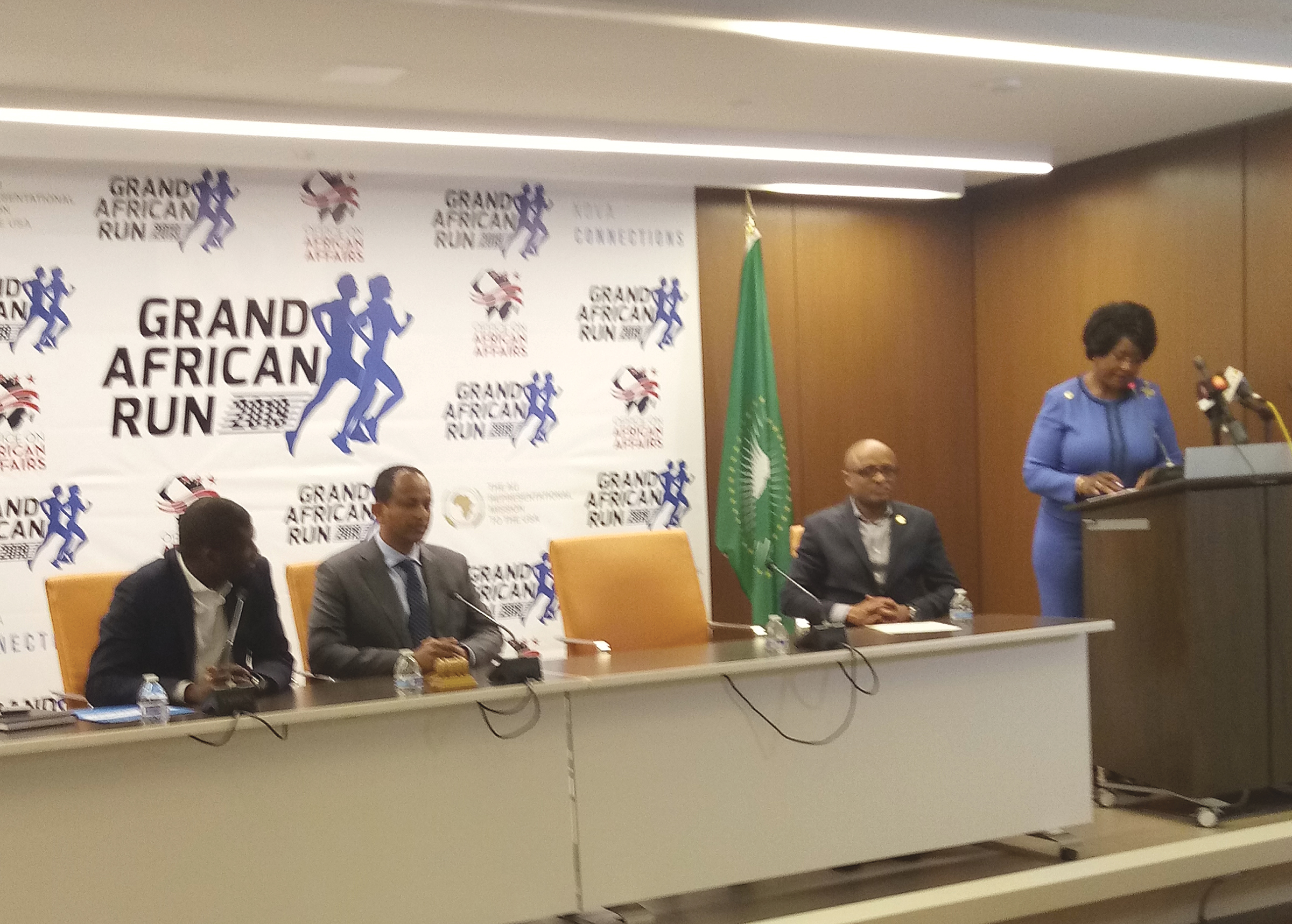 Inaugural Grand African Run Announced in Washington