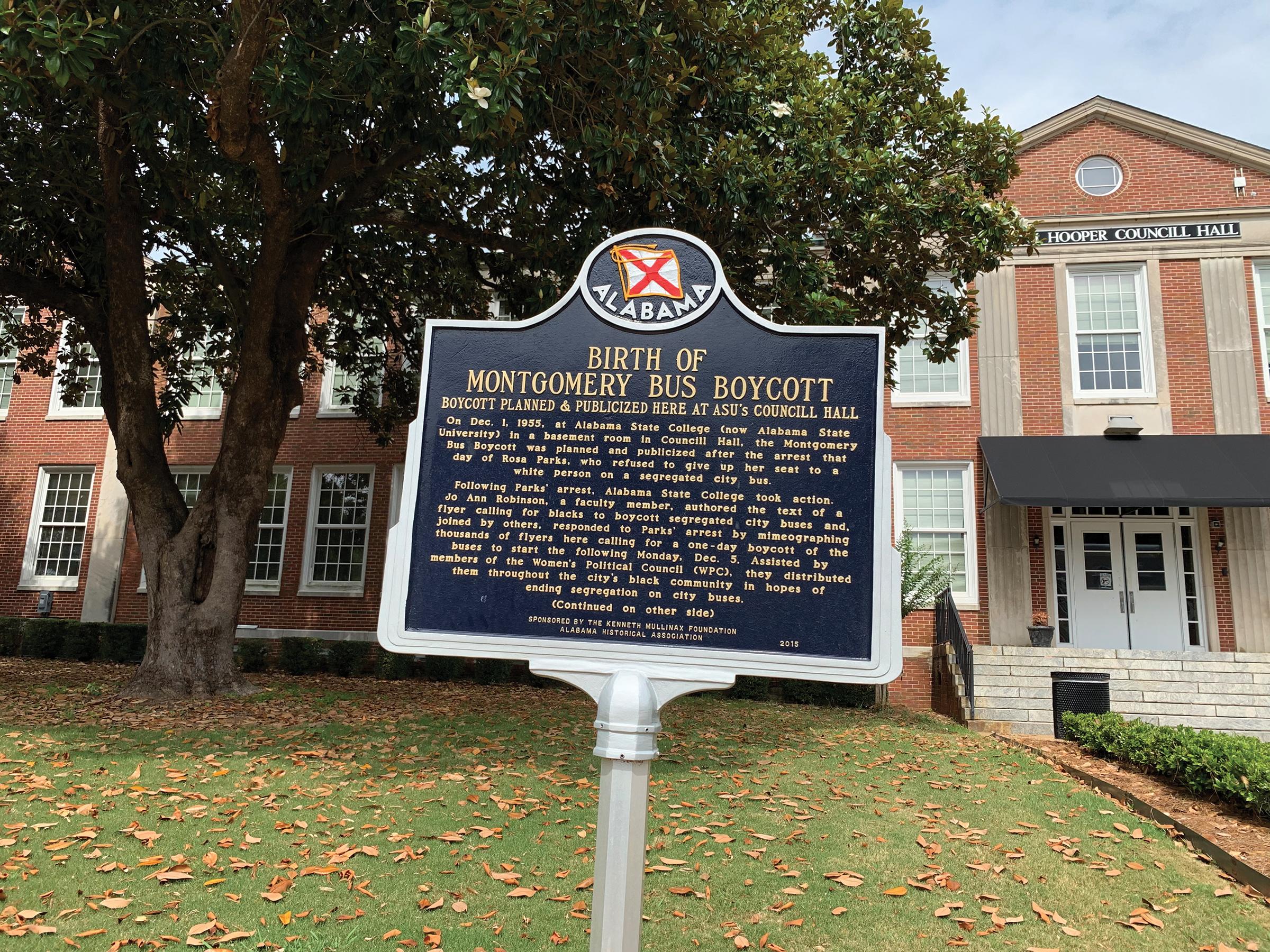 Alabama State University. (Dr. Paula L. Parks photo)