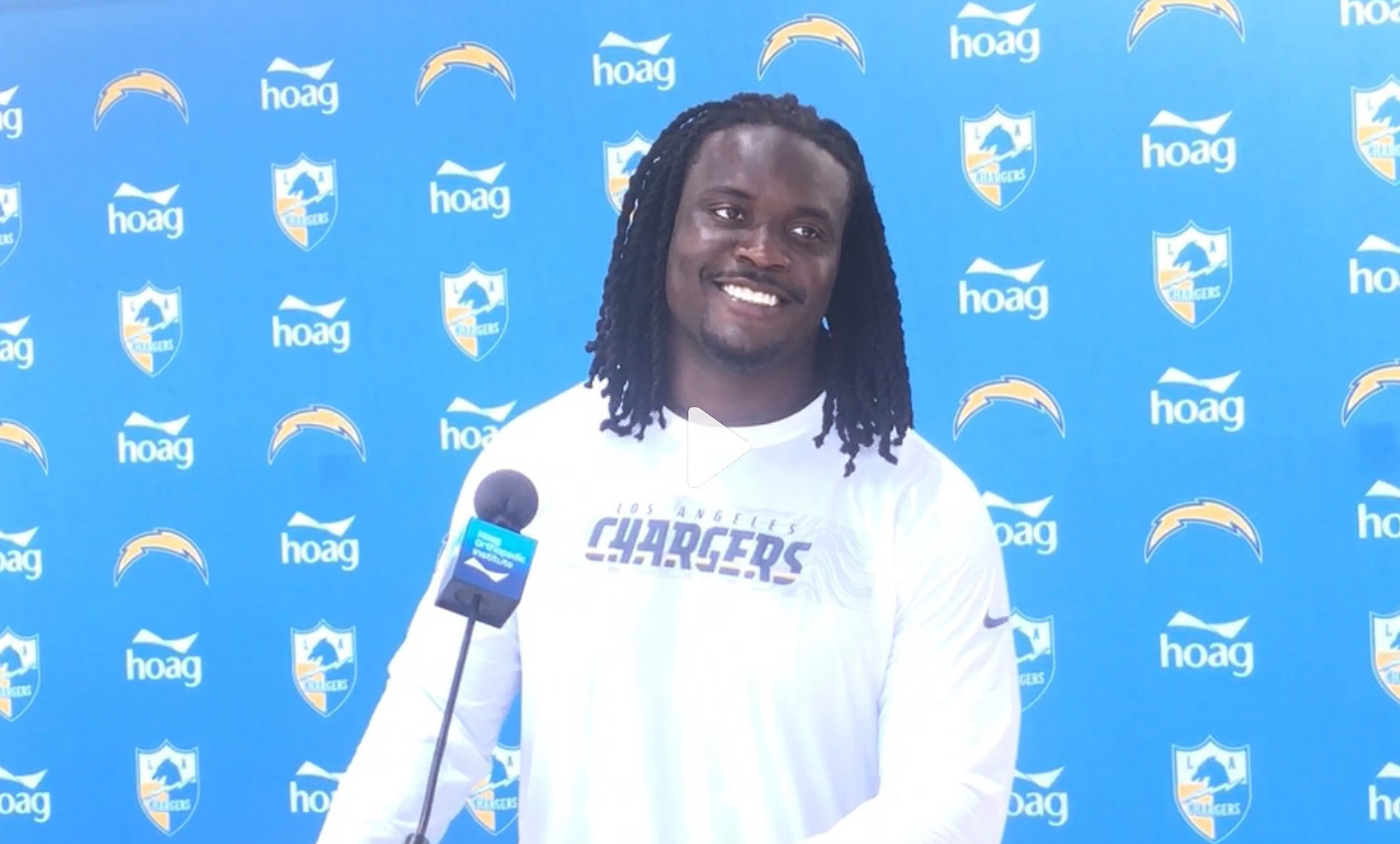 Chargers Defensive End, Melvin Ingram.