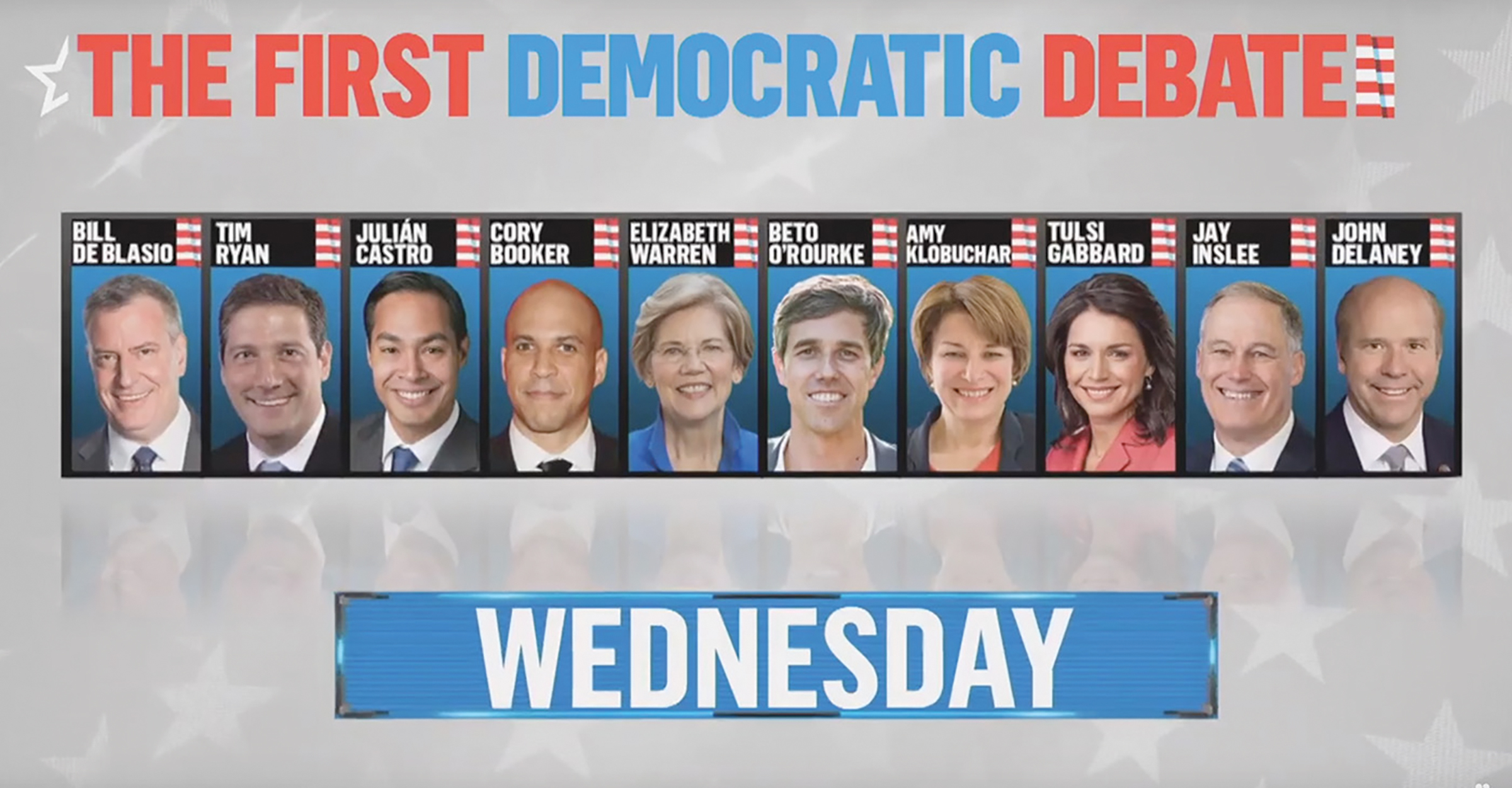 The second of the first two debates of the 2020 campaign will be June 27 in Miami. A second African American candidate, Sen. Kamala Harris of California, will be featured.