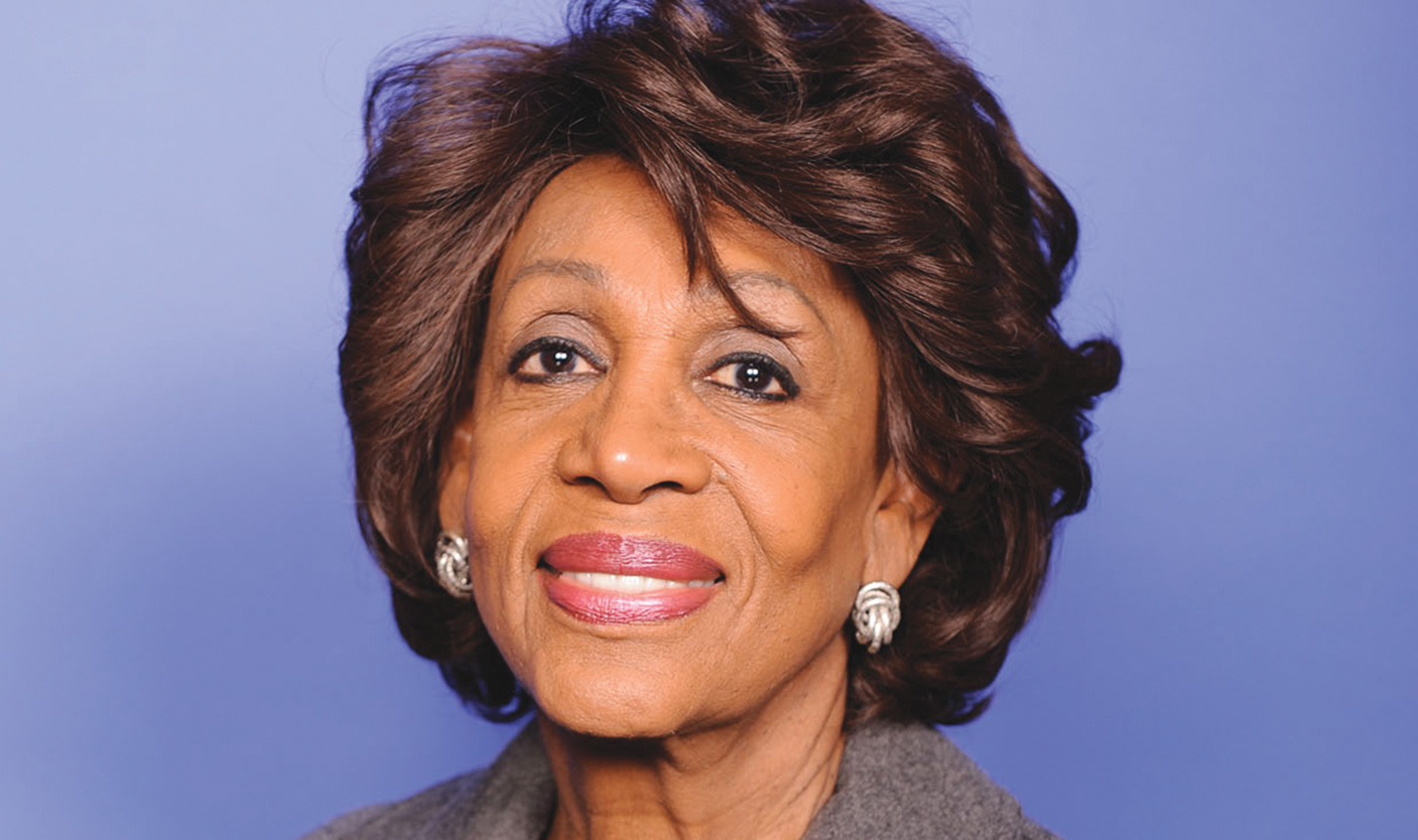 Congresswoman Maxine Waters (D-CA), Chairwoman of the House Committee on Financial Services. (courtesy photo)