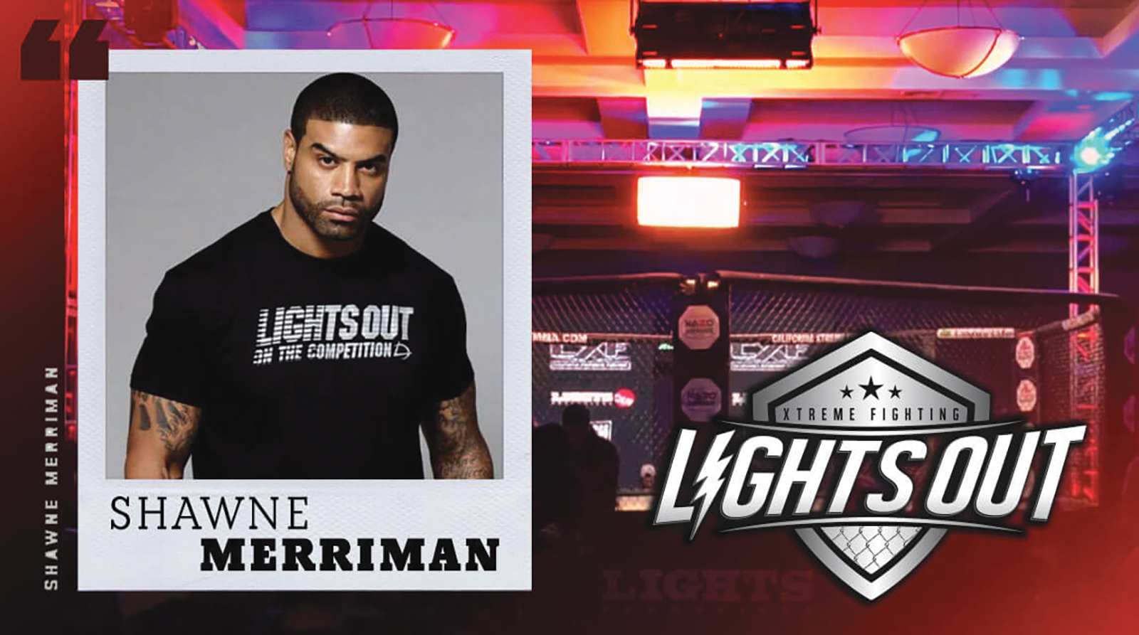 Shawne Merriman collaborates in the development of the LXF Fighting Events. (courtesy photo)