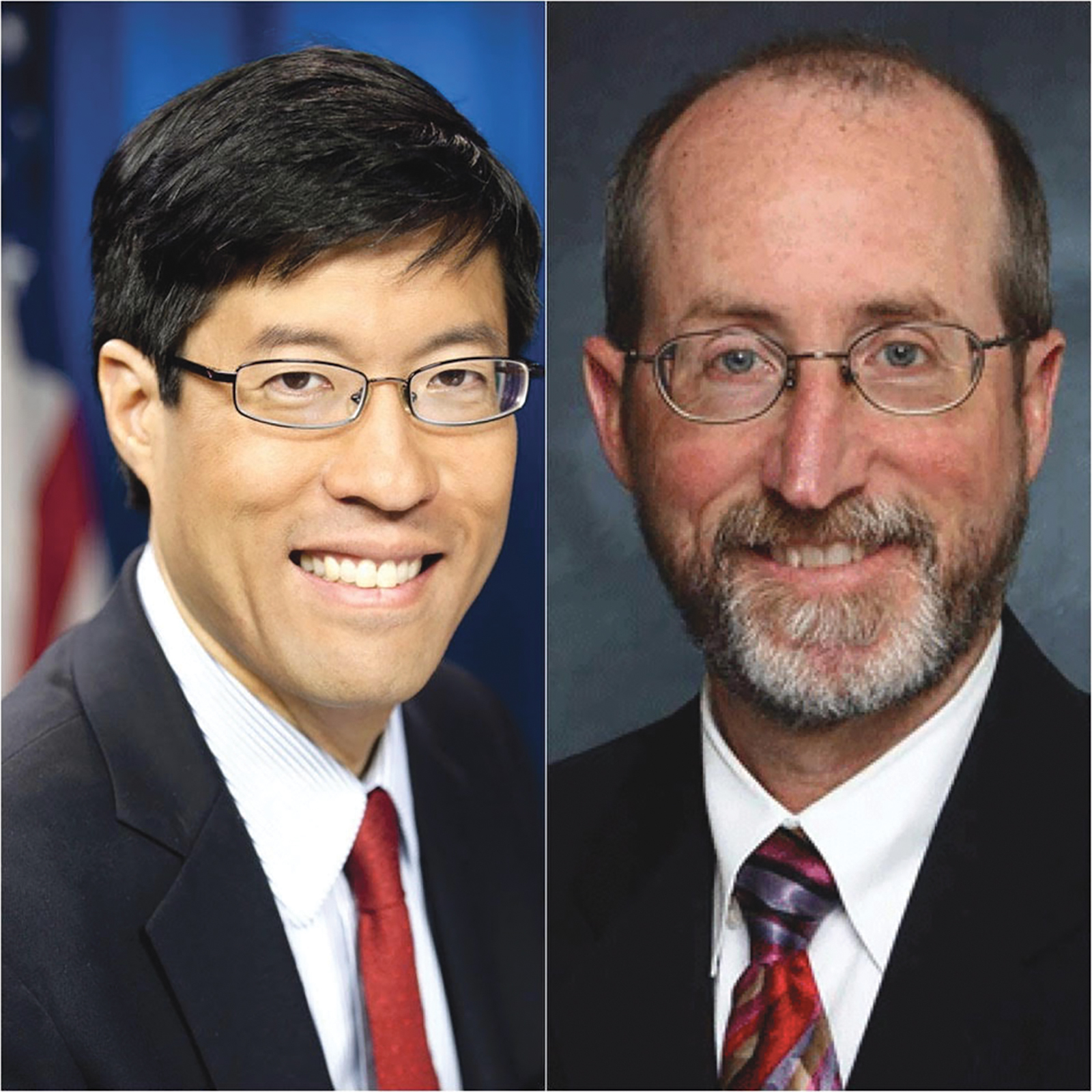 Left-Senator Richard Pan (D-Sacramento), Right-Senator Steven Glazer (D-Contra Costa) (CBM courtesy photo)