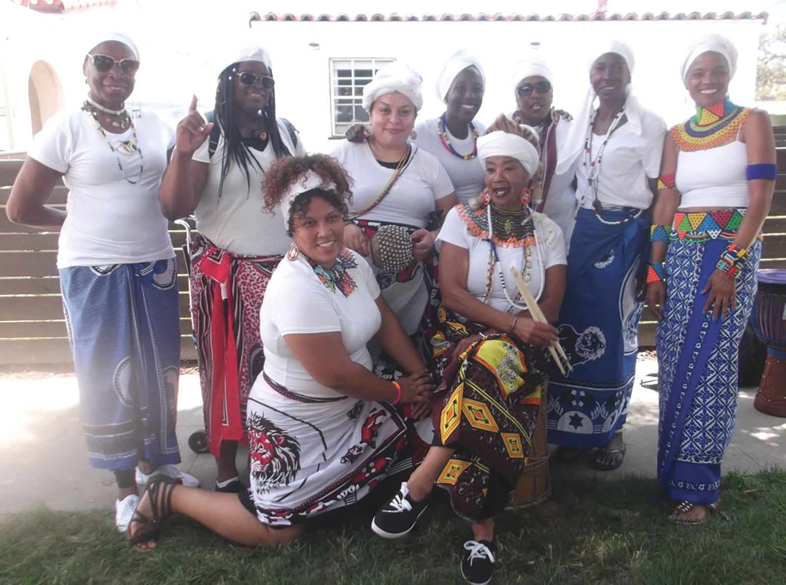 S.H.I.N.E. Mawusi Women's African Drum Group. (Courtesy Photo)