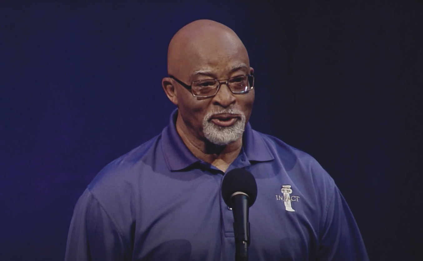 Storyteller Morris Irby, the first black baseball player at Tennessee Tech University discusses the cost of being a trailblazer. (Photo: Stories from the Stage)