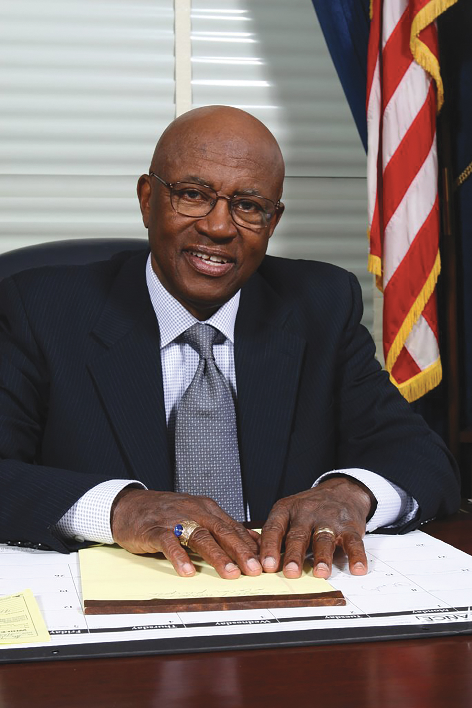 Rep. Edolphus Towns is a board member of World Business Lenders. He represented the 10th and 11th congressional districts in New York from 1983-2013. (Courtesy Photo)