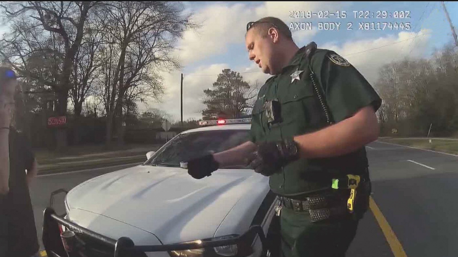 The video, which Wester recorded after mistakenly believing he had shut off his body and dash cam, shows the officer pulling a woman over for an alleged traffic violation.