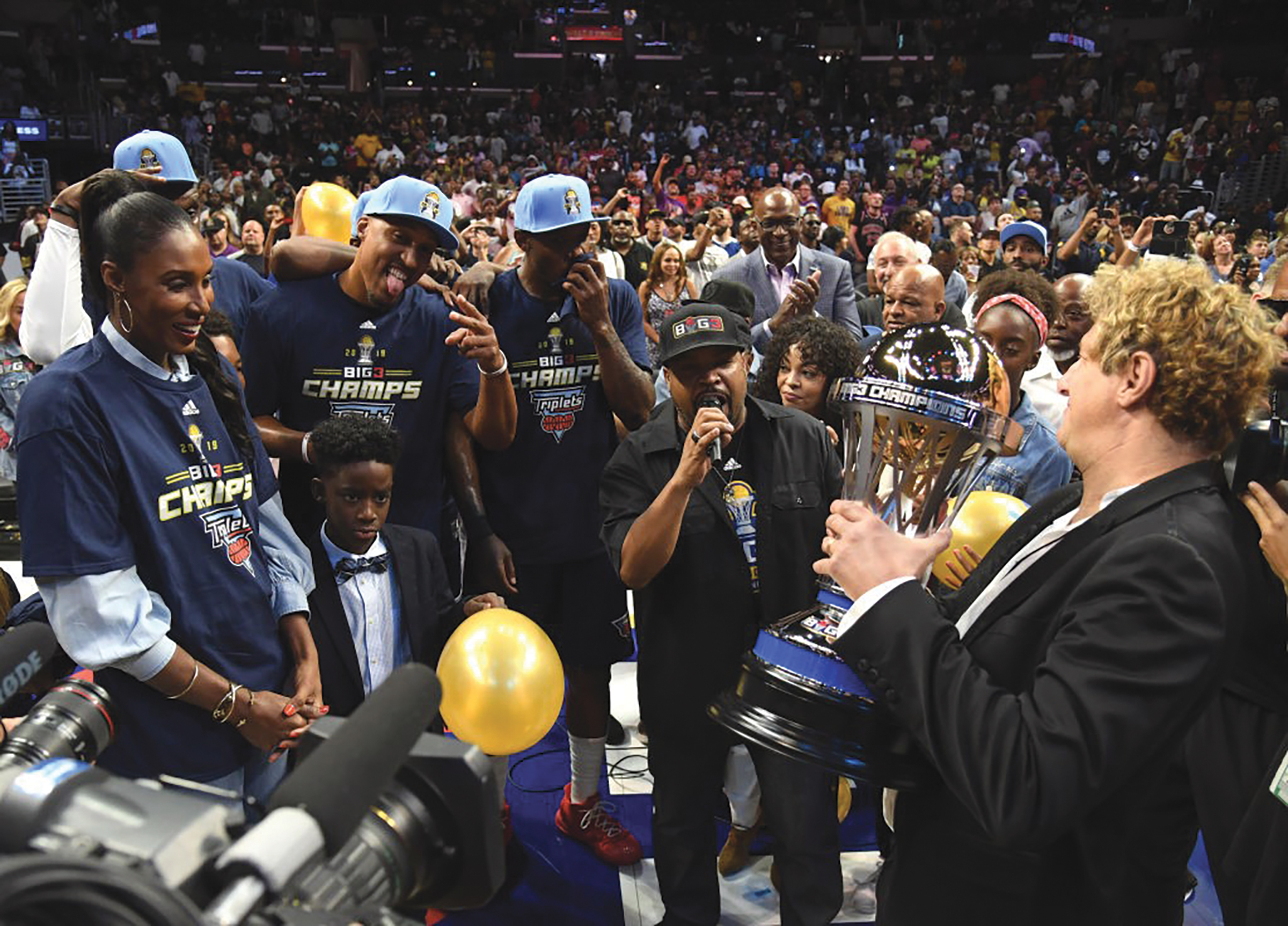 Triplets Win 2019 BIG3 Championship. (Getty Images)