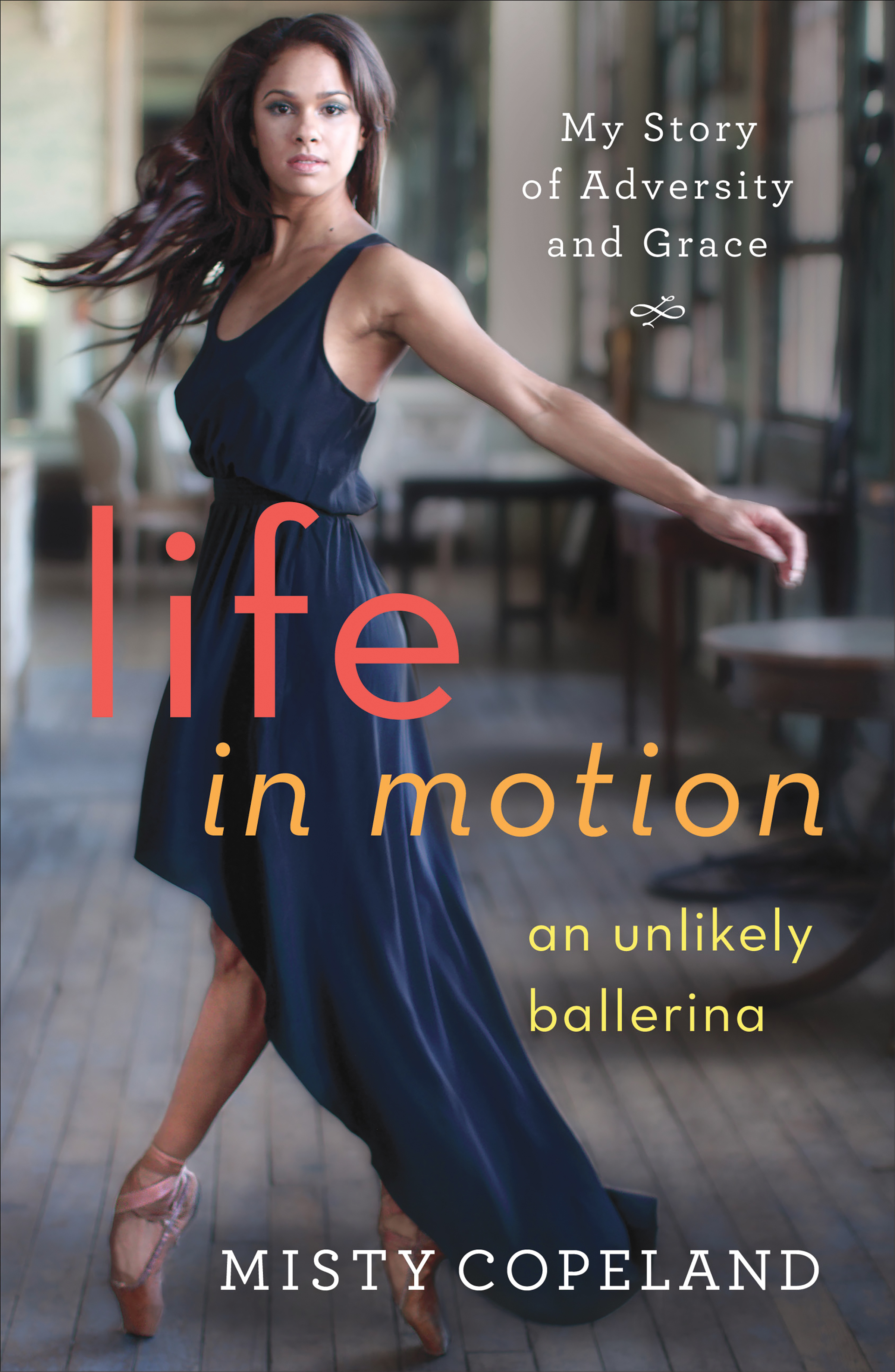Book Cover for Life In Motion memoir. / Wikimedia Commons