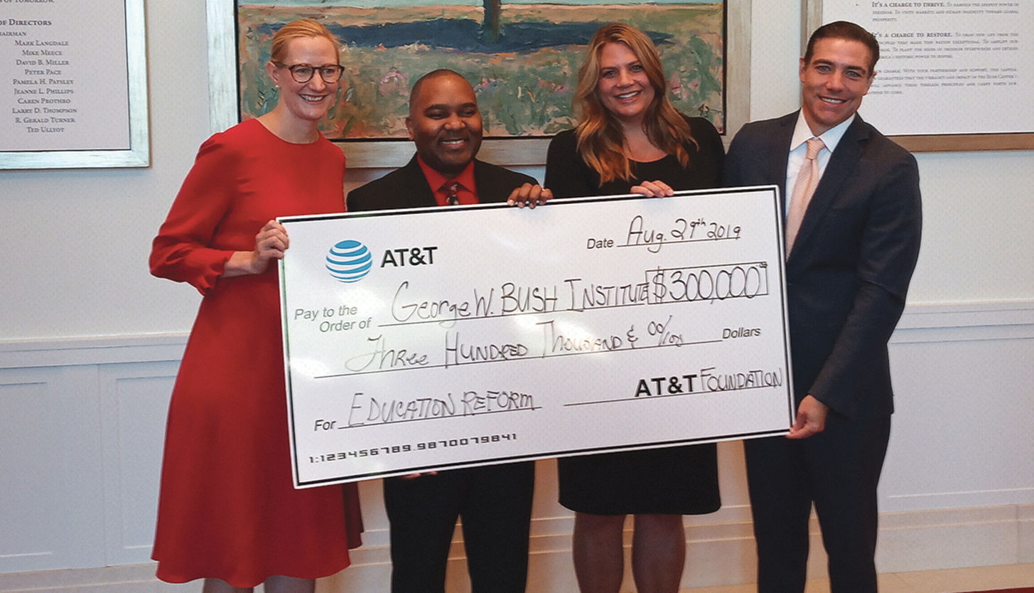 The contribution is part of AT&T Aspire, the company's signature education initiative focused on school success and career readiness. Since 2008, AT&T Aspire has committed $500 million to programs that help millions of students in all 50 states and around the world.