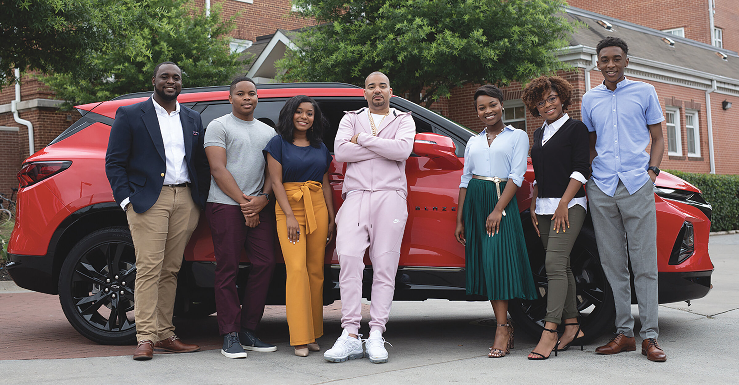 """""""I wanted to be an ambassador for DTU because the program marries together three things that I care passionately about: an HBCU education, a career in media and cars!"""" says DJ Envy, Discover the Unexpected Program Ambassador."""
