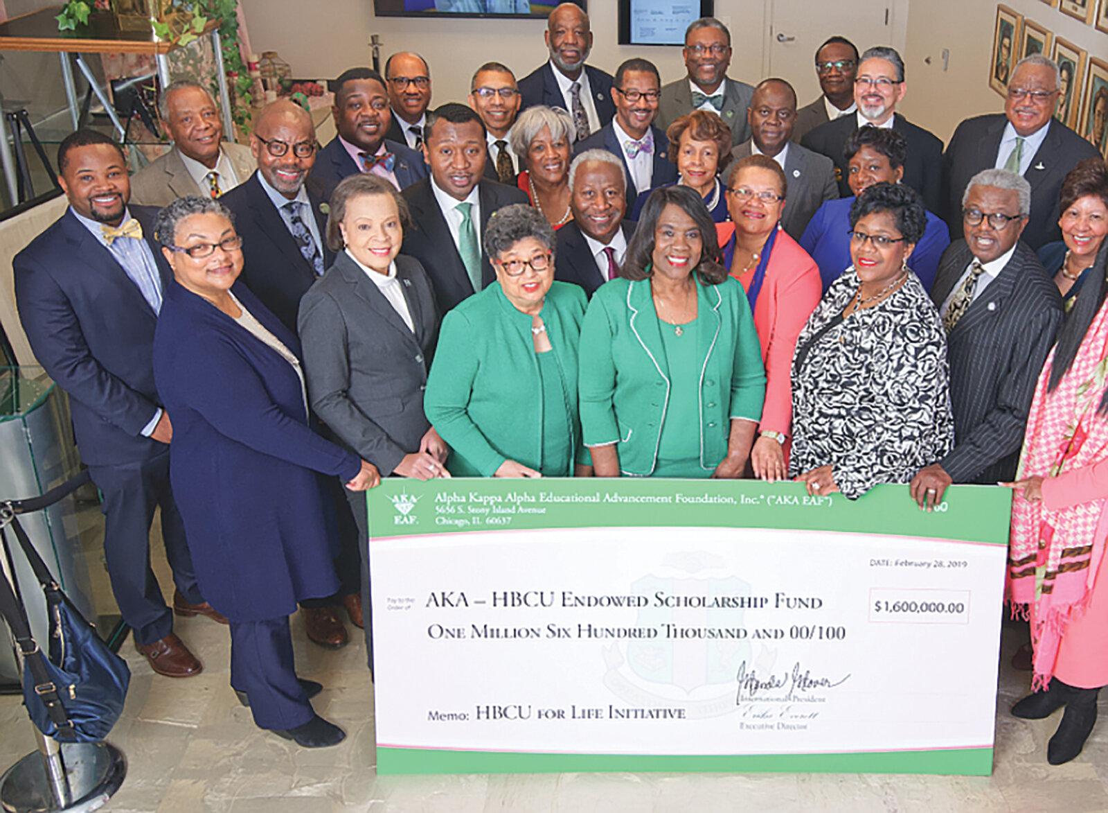 AKA Raises $1 Million for HBCUs in One Day. (Courtesy Photo)
