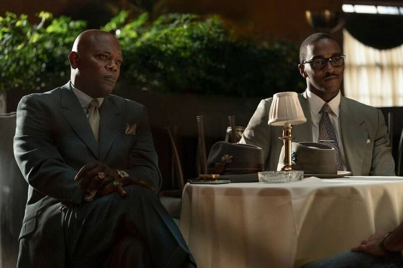 Samuel L. Jackson and Anthony Mackie co-star in the World premiere of Apple's The Banker, Apple TV's first original film.