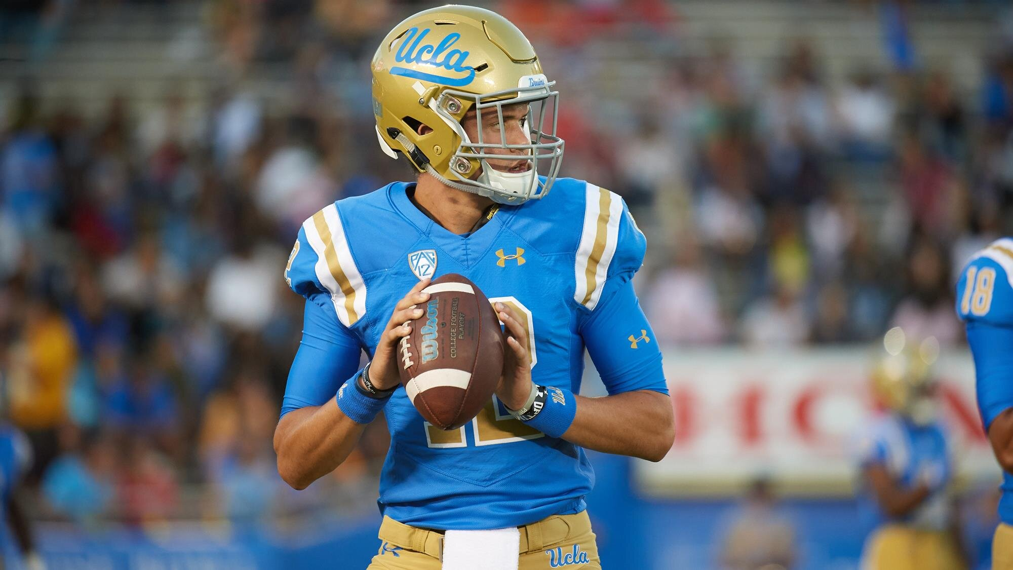 UCLA QB Austin Burton completed 27 of 41 passes for 236 yards. (Courtesy Photo)