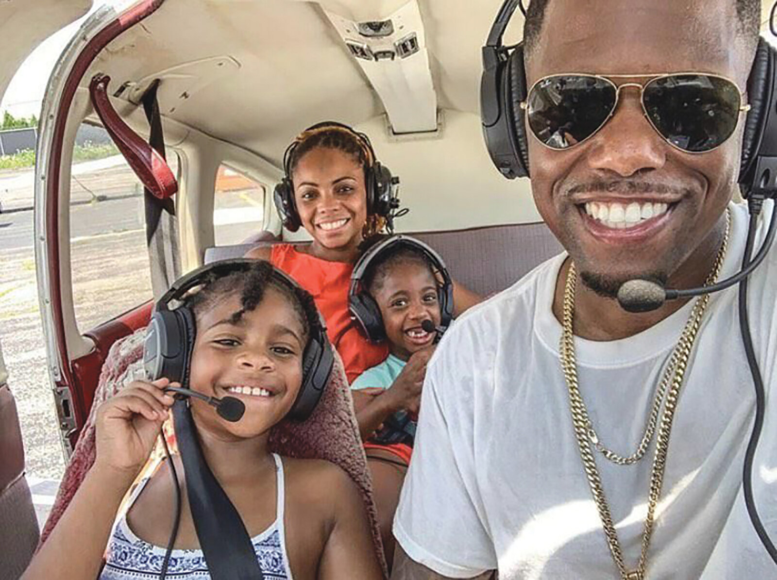 "Jerome Stanislaus , a Brooklyn-born father of two, said although he dreamed of becoming a pilot, he never believed he would. And, that belief stemmed from a blunt observation: ""I had never seen a black pilot,"" he said."