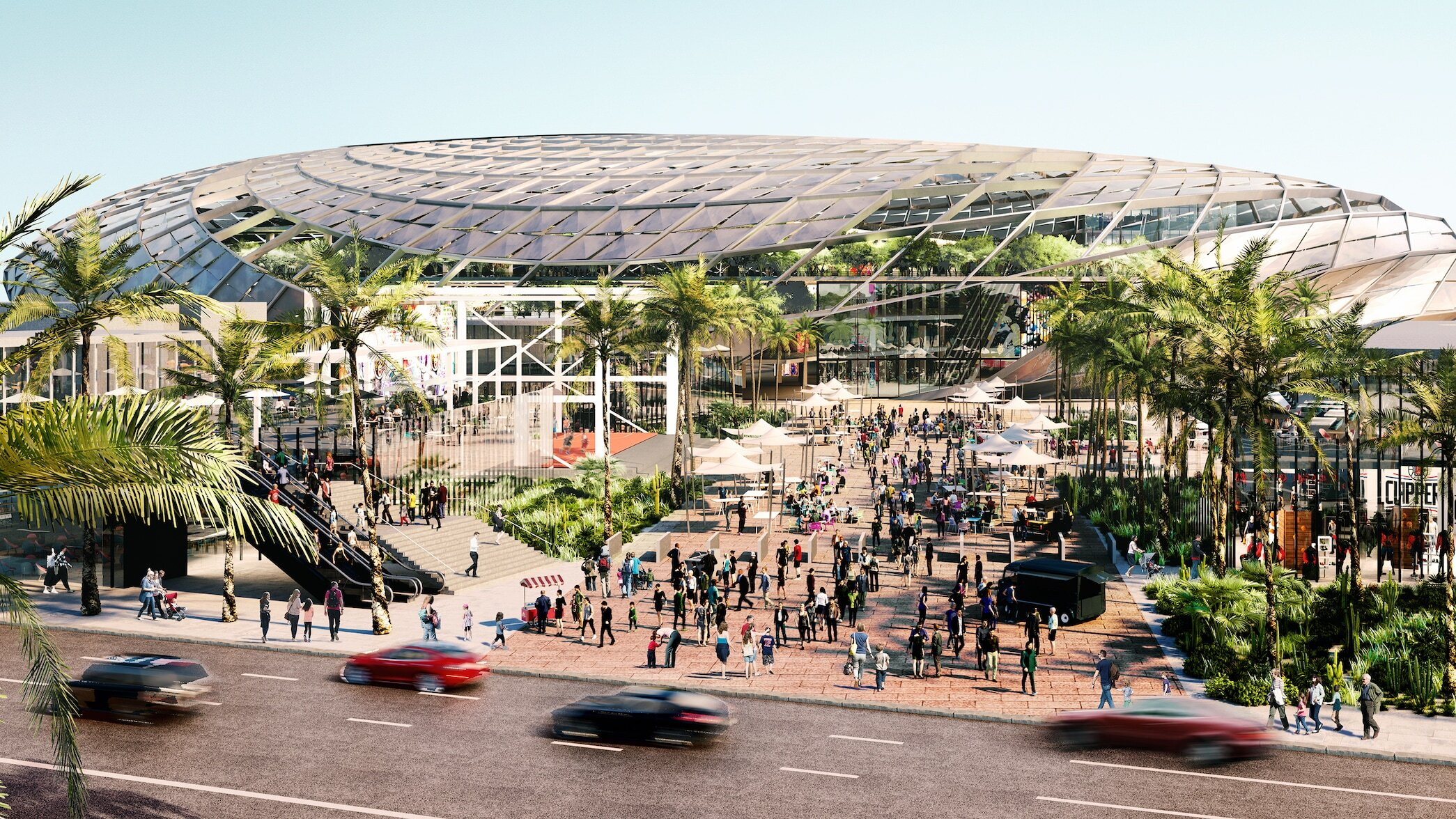 The 26-acre complex will house the Clippers' corporate headquarters and the team's training facility. (Photo Credit: NBA.com)