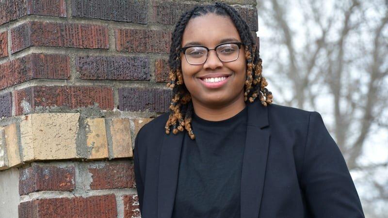 2018/19 Ossie Davis Legacy Scholarship Recipient Jade Allen (Photo: uncf.org)