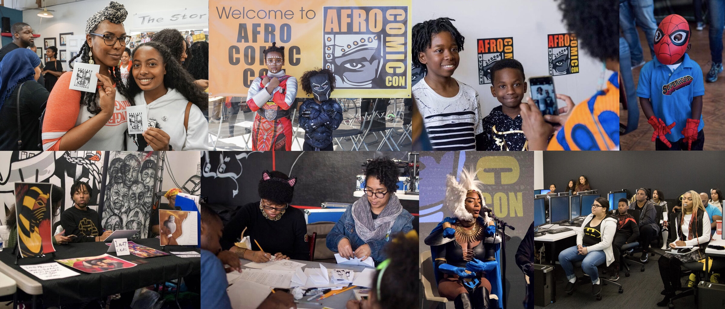 """""""(Convention-goers can) come away with a sense of ownership and collaboration."""" —AfroComicCon founder Michael James. (Photo: Afro ComicCon)"""
