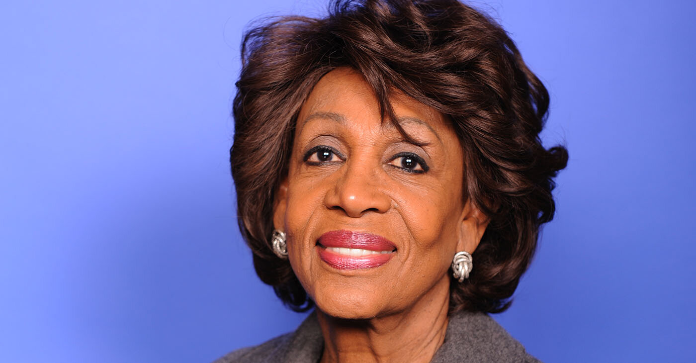 Congresswoman Maxine Waters (D-CA), Chairwoman of the House Financial Services Committee.