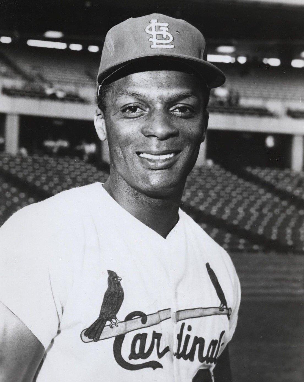Professional baseball player Curt Flood, (Photo: St. Louis Cardinals / Wikimedia Commons)
