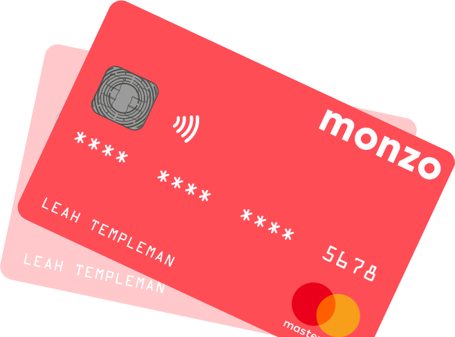 Picture courtesy of Monzo website