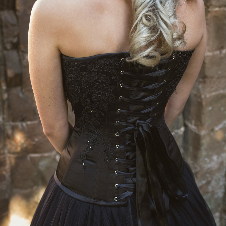 Can I Wear A Black Wedding Dress Ivory Black