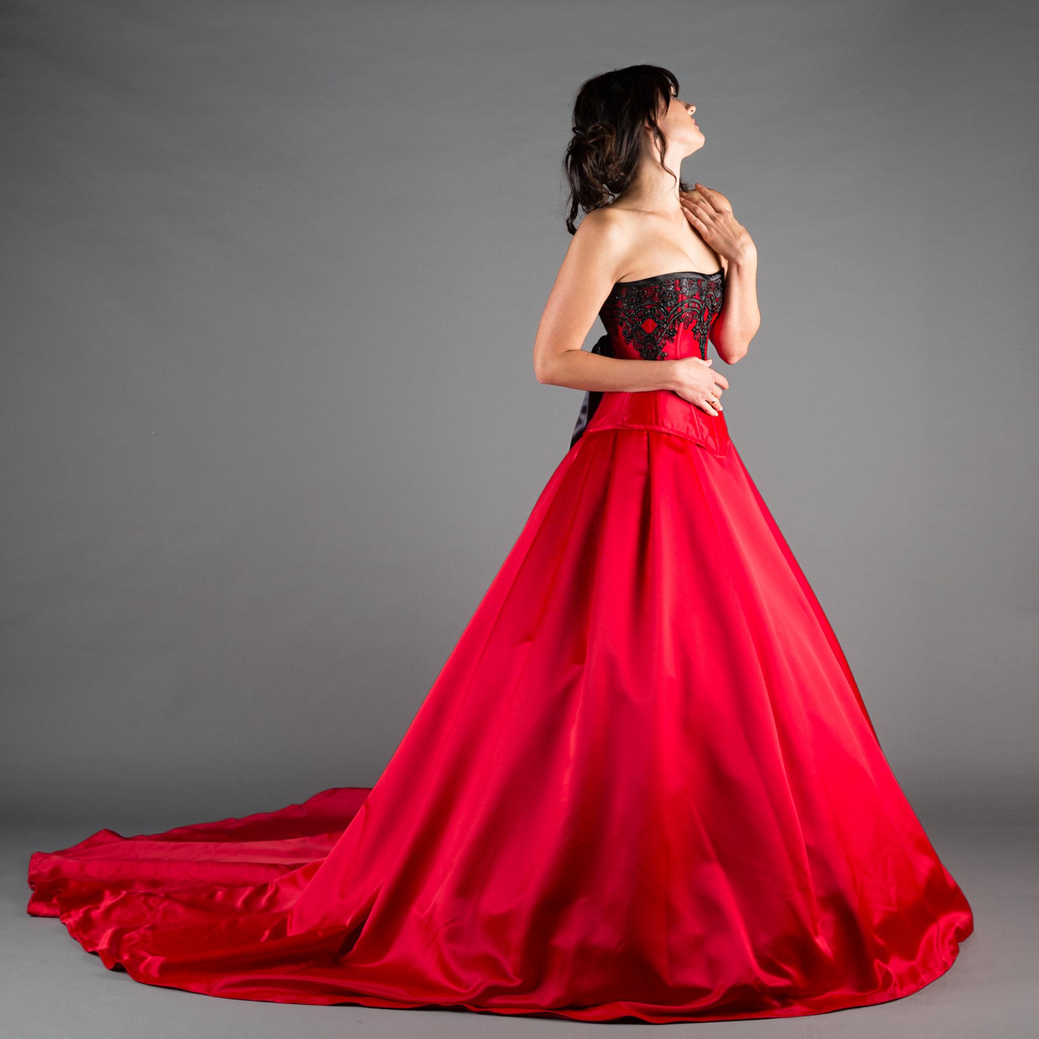 Can I Wear A Red Wedding Dress Ivory Black