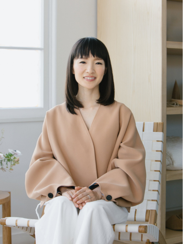 Above: Marie Kondo | Source:  @mariekondo